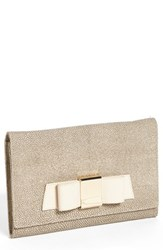 Ivanka Trump 'Blair' Stingray Embossed Clutch