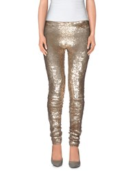Blumarine Trousers Leggings Women Platinum