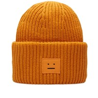 Acne Studios Pansy Wool Beanie Orange