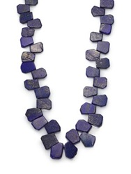Nest Lapis Cluster Long Necklace