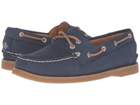 Sperry Gold Cup A O Seasonal Navy Glitter Women's Lace Up Casual Shoes