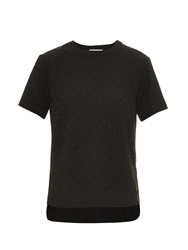 Balenciaga Studded Short Sleeved Top