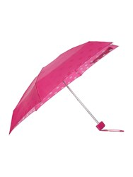 Lulu Guinness Lips Print Tiny Umbrella Fuchsia