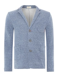 Red Soul Casual Button Blazer Navy