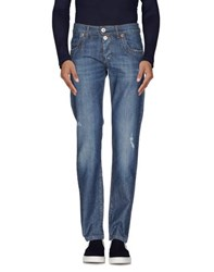 Dirk Bikkembergs Sport Couture Denim Denim Trousers Men Blue