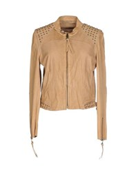 Ash Coats And Jackets Jackets Women Beige