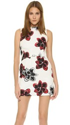 Milly Magnolia Print Astrid Dress Poppy