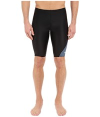 Revolve Splice Jammer Speedo Black Men's Swimwear