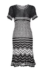 Spencer Vladimir Madison Flare Mini Dress Stripe