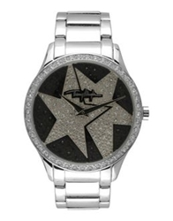 Thierry Mugler Wrist Watches Silver