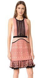 Three Floor Sun Down Dress Rose Dawn Black