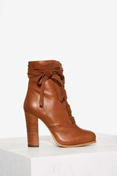 Nasty Gal Take A Hike Leather Boot