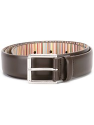 Paul Smith Classic Belt Brown