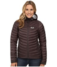 Jack Wolfskin Cumulus Jacket Dark Steel Women's Coat Brown