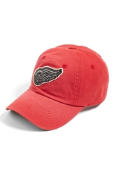 American Needle 'Detroit Red Wings Luther' Snapback Cap Red Black