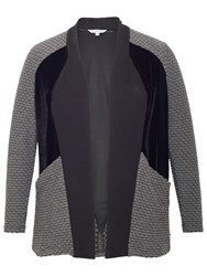 Chesca Mini Wavy Shrug Charcoal