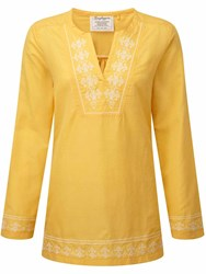 Craghoppers Clemence Long Sleeved Top Yellow