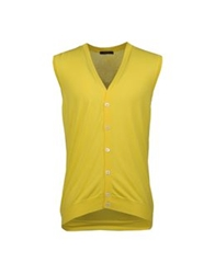 Gran Sasso Sweater Vests Yellow