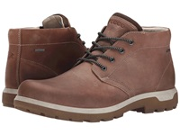 Ecco Sport Whistler Gore Tex Mid Cocoa Brown Men's Lace Up Boots