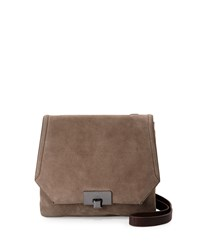 Kooba Filmore Suede Crossbody Bag Armadillo