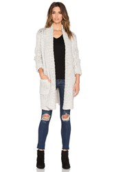 Line Barclay Oversized Cardigan Gray