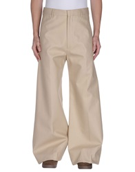 Acne Studios Casual Pants Beige