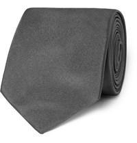 Hugo Boss Silk Tie Gray