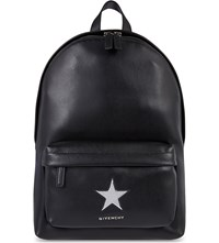 Givenchy Small Star Leather Backpack Black