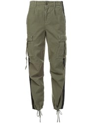 Adaptation Tapered Cargo Trousers Green