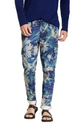 J Brand Clean Trooper Slim Cargo Pant Blue
