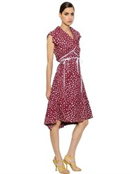 Vivienne Westwood Polka Dot Cotton Poplin Wrap Dress