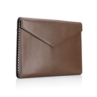 Mark Giusti Cosmati Laptop And Document Case Brown