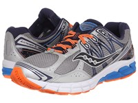 Saucony Lancer 2 Silver Navy Orange Men's Running Shoes Multi
