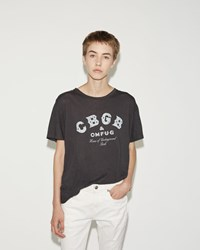 R 13 Cbgb Boy Tee Washed Black