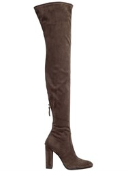 Steve Madden 100Mm Stretch Microfiber Boots