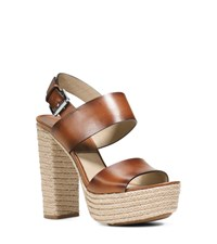 Summer Leather Platform Sandal