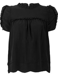 Ulla Johnson Shortsleeved Blouse Black