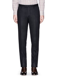 Boglioli Virgin Wool Pants Blue