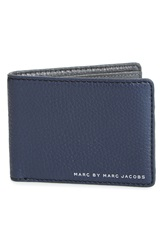 Marc By Marc Jacobs 'Martin' Leather Bifold Wallet Washed Ink
