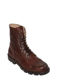 Diesel Steel Toe Smooth Leather Boots