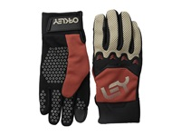 Oakley Factory Pipe Glove Burnt Henna Cycling Gloves Orange