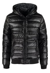 Solid Duky Winter Jacket Black