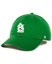 '47 Brand St. Louis Cardinals Clean Up Hat Kelly Green