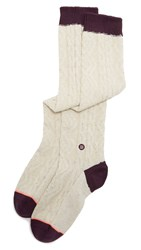 Stance Solstice Socks Cream