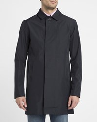 Selected Navy Trench Pr Coat Blue