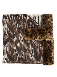 Pierre Louis Mascia 'Fanorypel' Scarf Brown