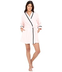 Kate Spade Terry Wrap Pastry Pink Women's Robe Multi