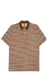 Missoni Striped Polo T Shirt