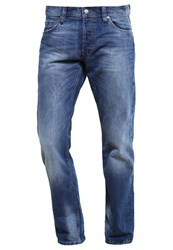 Esprit Edc By Straight Leg Jeans Dark Blue Dark Blue Denim