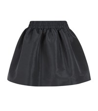Red Valentino Faille Bubble Skirt Female Black